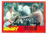 Sean Young autographed Baby card 1985 Topps #38