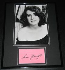 Sean Young Blade Runner Signed Framed 11x14 Photo Display