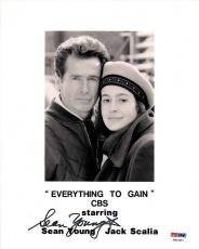 Sean Young Signed Everything to Gain 8x10 Photo PSA/DNA