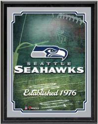 "Seattle Seahawks Team Logo Sublimated 10.5"" x 13"" Plaque"