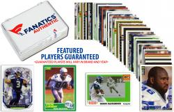 Seattle Seahawks Team Trading Card Block/50 Card Lot