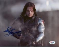 Sebastian Stan Captain America Signed 8X10 Photo PSA/DNA #Y96360