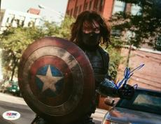 Sebastian Stan Captain America Signed Autographed 8x10 Photo PSA/DNA AUTHENTIC