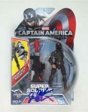 Sebastian Stan Captain America Winter Autographed Signed Action Figure PSA/DNA
