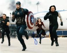 Sebastian Stan Signed 8x10 Photo Autograph Winter Solider Captain America Coa C