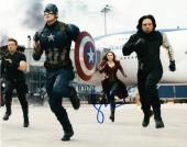 Sebastian Stan Signed 8x10 Photo Autograph Winter Solider Captain America Coa C