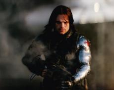 Sebastian Stan Signed 8x10 Photo Autograph Winter Solider Captain America Coa E