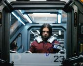 Sebastian Stan Signed 8x10 Photo Autograph Winter Solider Captain America Coa F