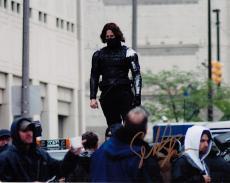 Sebastian Stan Signed 8x10 Photo w/COA Captain America Black Swan #1