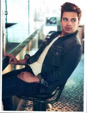Sebastian Stan Signed Autographed 8x10 Photo Captain America COA VD