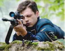 Sebastian Stan signed Captain America: The First Avenger 8x10 photo W/Coa #4