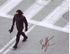 SEBASTIAN STAN signed *Captain America: The Winter Soldier* 8X10 photo W/COA #1