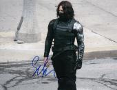 Sebastian Stan signed Captain America: The Winter Soldier 8x10 photo w/coa #10