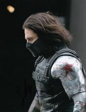 Sebastian Stan signed Captain America: The Winter Soldier 8x10 photo w/coa #1