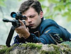 Sebastian Stan signed Captain America: The Winter Soldier 8x10 photo w/coa #2