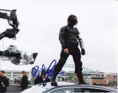 Sebastian Stan signed Captain America: The Winter Soldier 8x10 photo W/Coa #4