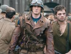 Sebastian Stan signed Captain America: The Winter Soldier 8x10 photo w/coa #5