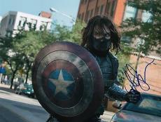 Sebastian Stan signed Captain America: The Winter Soldier 8x10 photo w/coa #6