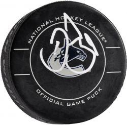 Daniel Sedin Vancouver Canucks Autographed Hockey Puck