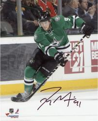 "Tyler Seguin Dallas Stars Autographed 8"" x 10"" Vertical Skating Photograph"