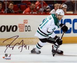 "Tyler Seguin Dallas Stars Autographed 8"" x 10"" Horizontal White Uniform Photograph"