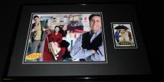 Seinfeld 11x17 Framed ORIGINAL Topps Card & Cast Photo Display