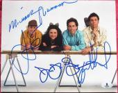 Seinfeld Cast 4x signed 8x10 photo Jerry Dreyfus Alexander Richards Beckett BAS