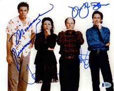 Seinfeld Cast Autographed Signed 8x10 Photo Certified Authentic Beckett BAS COA