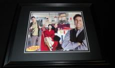 Seinfeld Cast Framed 8x10 Photo Poster Jerry Kramer Elaine Benes George Costanza