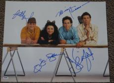 Seinfeld Cast Signed 16x20 Photo Jerry Seinfeld Richards Alexander Dreyfus Psa