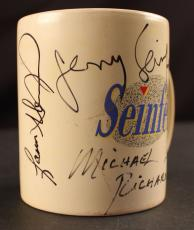 Seinfeld Cast Signed Coffee Mug (Seinfeld, Dreyfus, Alexander & Richards) JSA