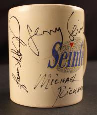 Seinfeld Cast Signed Coffee Mug (Seinfeld, Dreyfus, Alexander & Richards) JSA
