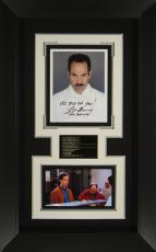 Seinfeld Soup Nazi Larry Thomas Signed Display Framed