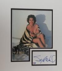Sela Ward Signed 8x10 Photo Matted w/ Autographed Cut Signature PSA/DNA #P94096