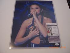 Selena Gomez Sext Actress/singer Td/holo Signed 11x14 Photo
