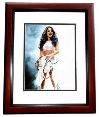 Selena Gomez Signed - Autographed Actress - Singer Concert 8x10 Photo MAHOGANY CUSTOM FRAME