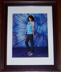 Selena Gomez Signed Autographed Photo JSA COA Framed 8x10!