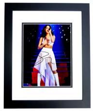 Selena Gomez Signed - Autographed Sexy Singer - Actress 8x10 inch Photo BLACK CUSTOM FRAME - Guaranteed to pass PSA or JSA