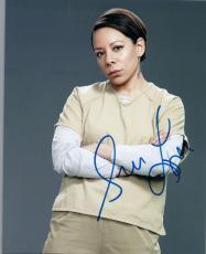 Selenis Leyva Signed Autographed 8x10 Photo Orange is the New Black COA VD