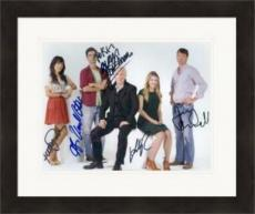 Seminar autographed by Alan Rickman Jerry OConnell Hamish Linklater Hettienne Park Lily Rabe 8x11 Broadway Play  #NG1 Matted & Framed