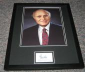 Senator Herb Kohl Wisconsin Facsimile Signed Framed 11x14 Photo Display