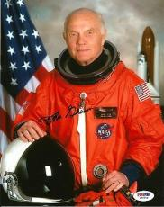 Senator John Glenn Astronaut NASA Signed Auto 8x10 Photo PSA/DNA COA