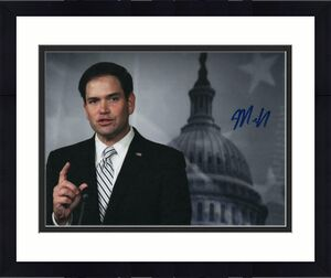 Senator Marco Rubio Signed Autographed 8x10 Photo - Florida, Donald Trump D