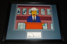 Senator Robert Bob Dole Signed Framed 11x14 Photo Display The Simpsons B