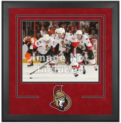 "Ottawa Senators Deluxe 16"" x 20"" Horizontal Photograph Frame - Mounted Memories"