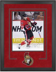 "Ottawa Senators Deluxe 16"" x 20"" Vertical Photograph Frame - Mounted Memories"