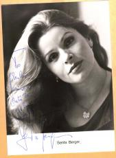 Senta Berger-signed post card-29 a