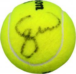 Serena Williams Autographed Australian Open Logo Tennis Ball