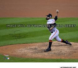 "Sergio Romo San Francisco Giants Autographed 8"" x 10"" Photograph"