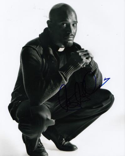 SETH GILLIAM signed (THE WALKING DEAD) TWD 8X10 photo *FATHER STOKES* W/COA